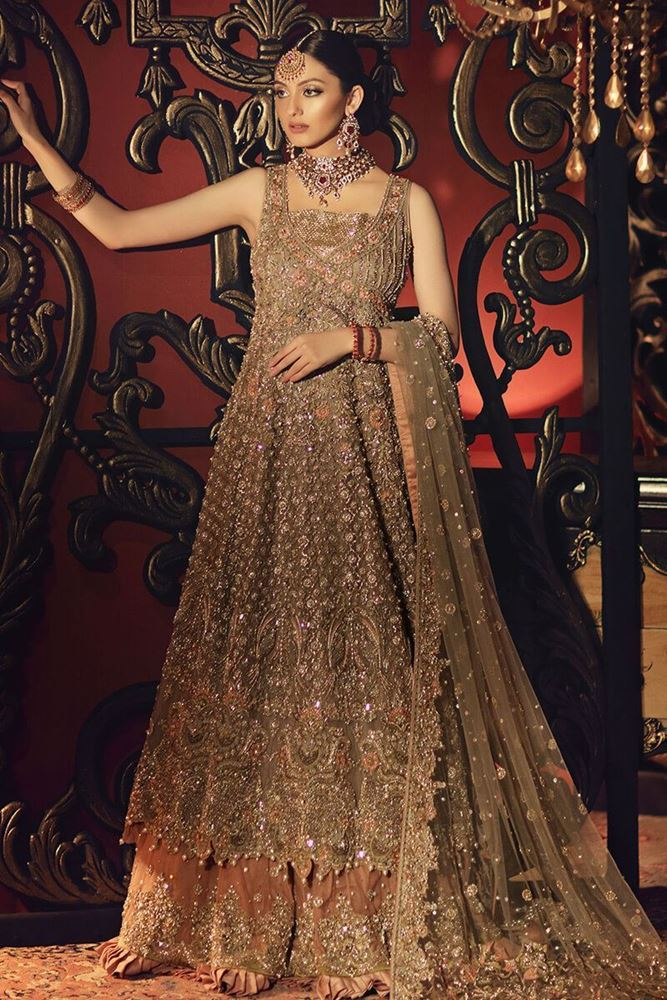 Latest Pakistani Bridal Dresses Collection 2020 For Wedding With Price
