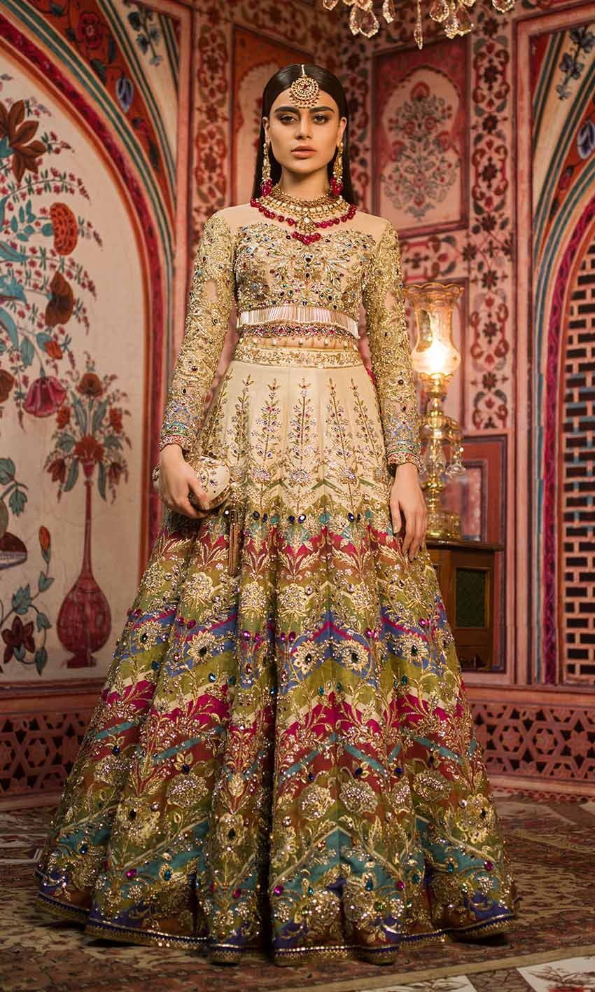 Latest Pakistani Bridal Dresses Collection 2019 For Wedding