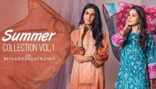 Bonanza Satrangi Lawn Collection