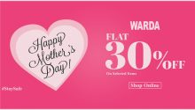 warda mother day sale 2020