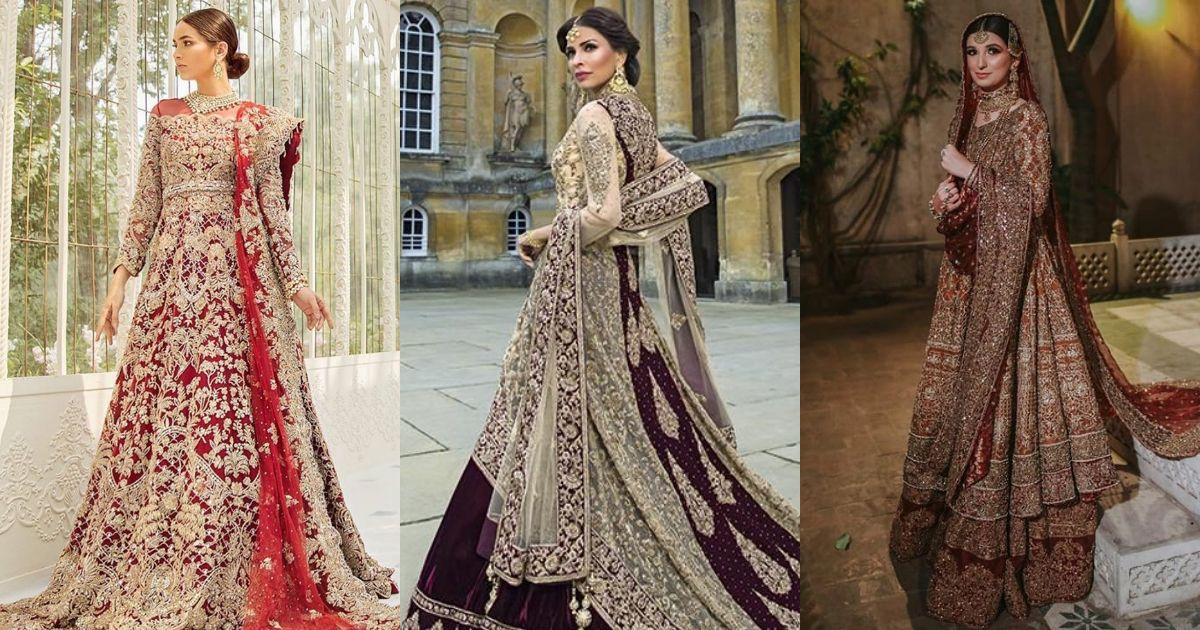 Pakistani Bridal Dresses 2020 For Wedding Barat Walima With Price